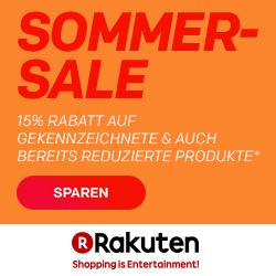 15% Rabatt auf ausgewählte Händler/Produkte bei Rakuten - Apple iPads, Reifen und mehr