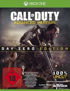 Call of Duty: Advanced Warfare - Day Zero Edition (Xbox One) für 9,96€ (GameStop)