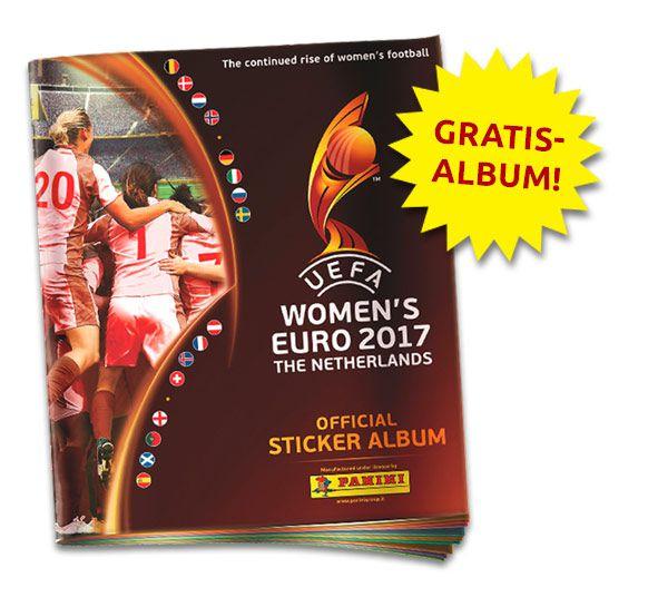 Gratis Panini Album zur UEFA WOMEN'S EURO 2017