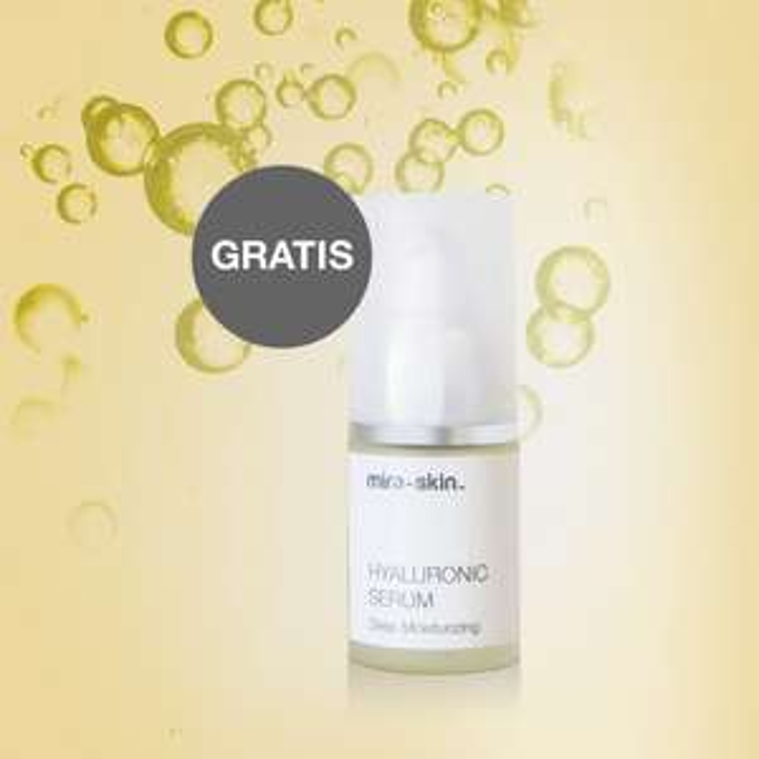 Anti-Age Hyaluron Serum von Mira-Skin - 2,5 ml Gratisprobe