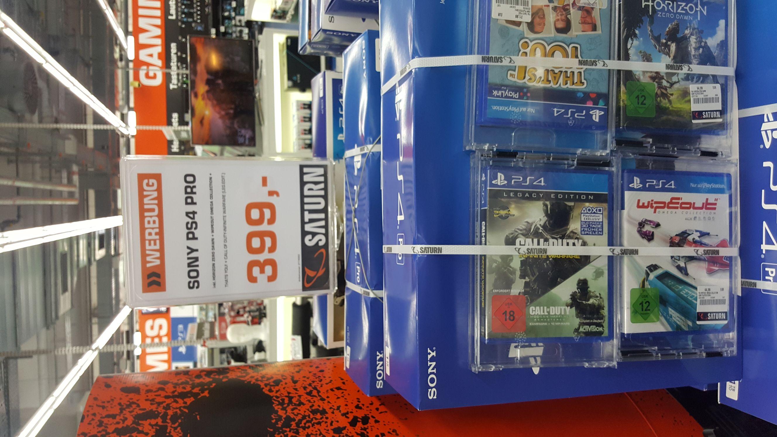 [LOKAL Berlin] PS4 Pro + 4 Spiele im Saturn Mall of Berlin
