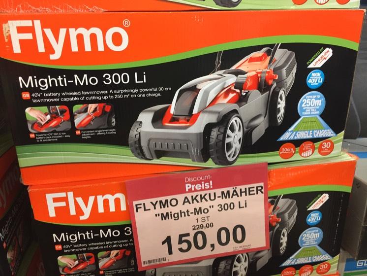 [Lokal Oldenburg Famila] Flymo Mighti-Mo Akkurasenmäher