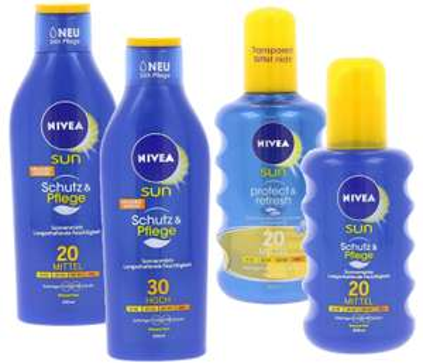 Nivea Sun Produkte für 3,99€ inkl. Versand
