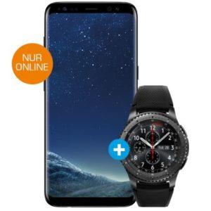 Galaxy S8 + Gear S3 + Wireless Ladestation für 29,99 montl. inkl LTE [Mediamarkt]