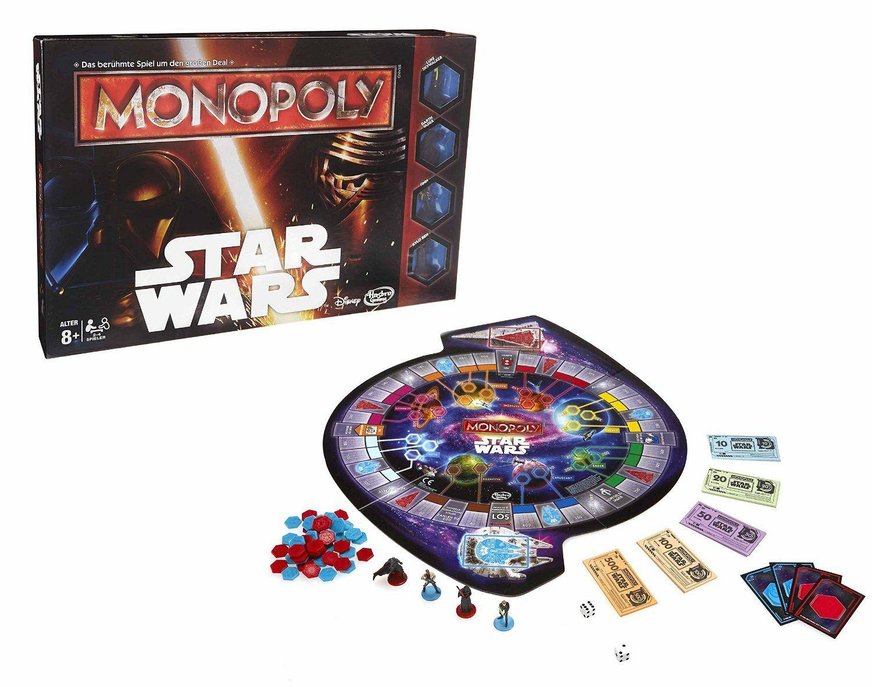 [,-real bundesweit] Hasbro Star Wars Monopoly für 10€