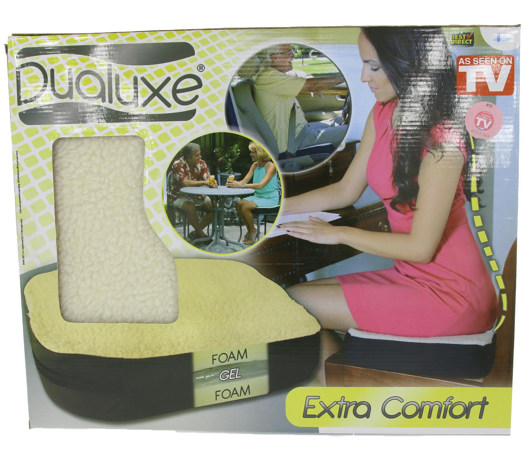 """Gel-Sitzkissen """"Dualuxe Fleece"""" für 9,99€"""