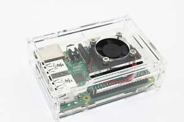 [Aliexpress] Transparentes Gehäuse mit Lüfter für Raspberry Pi B + modell b plus & Raspberry Pi 2