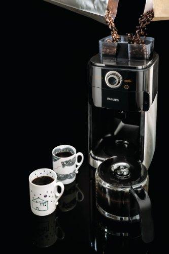 [Amazon Blitzangebot] Philips HD7766/00 Grind&Brew Filter-Kaffeemaschine, doppelter Bohnenbehälter, schwarz/metall für 106 statt 127