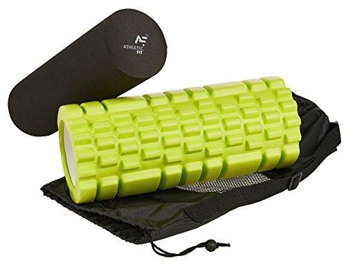 Athletic Fit Premium 2-in-1 Massage- und Faszienrolle für 24,95€ (-50%) & 30 Tage Rückgaberecht.