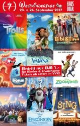 Comet Cine Center Mönchengladbach 23.09. und 24.09. für 1€ ins Kino!