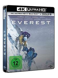 EVEREST Ultra 4K & Blu Ray mit Amazon Prime