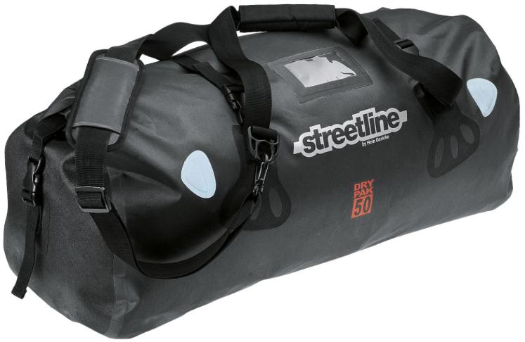 Streetline Hecktasche DP 50 - wasserdichte Gepäcktasche fürs Motorrad