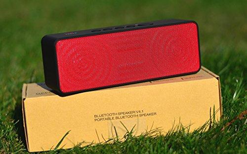 Tragbarer Lautsprecher, Geega Bluetooth 4.1 Lautsprecher