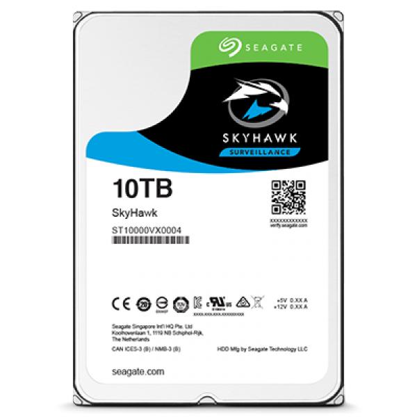"""[Hardwarehouse und weitere Shops) Seagate SkyHawk ST10000VX0004 10 TB 3,5"""" Festplatte für 238,95€"""