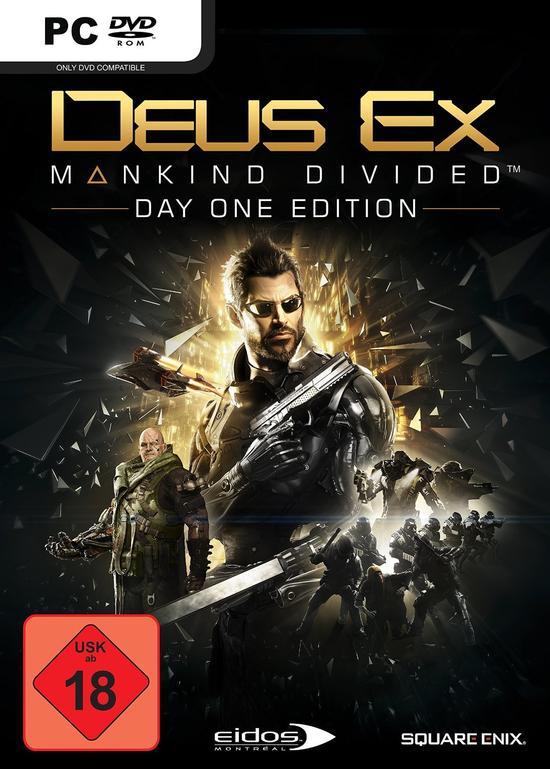 Deus Ex: Mankind Divided - Day One Edition (Retail) für 6,99€ [Gamestop Abholung]