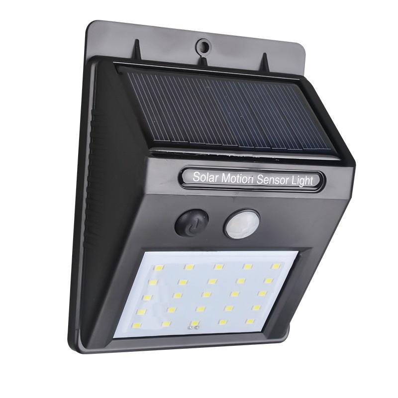 LED Außenleuchte mit Solar - 25 LEDs