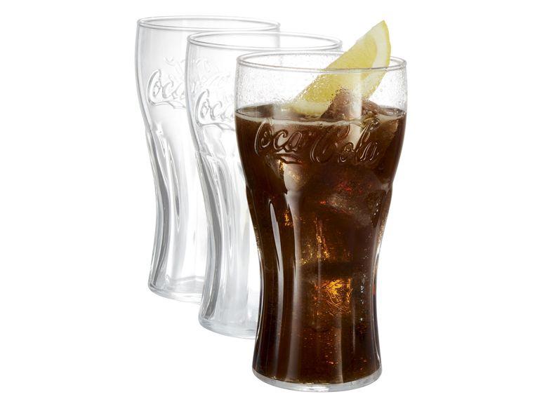 [LIDL] Coca Cola Gläser 3er Set mit Prägung On & Offline