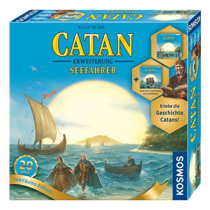 [Hugendubel] Die Siedler von CATAN  Seefahrer Jubiläumsbox Brettspiel