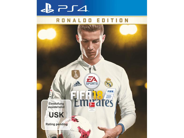 Saturn Online, Fifa 18 Ronaldo Edition, 70€ statt 90€ bei Bezahlung mit Paypal