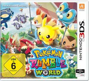 Pokémon Rumble World - [3DS] für nur 15,46€ ( Amazon Prime ) !