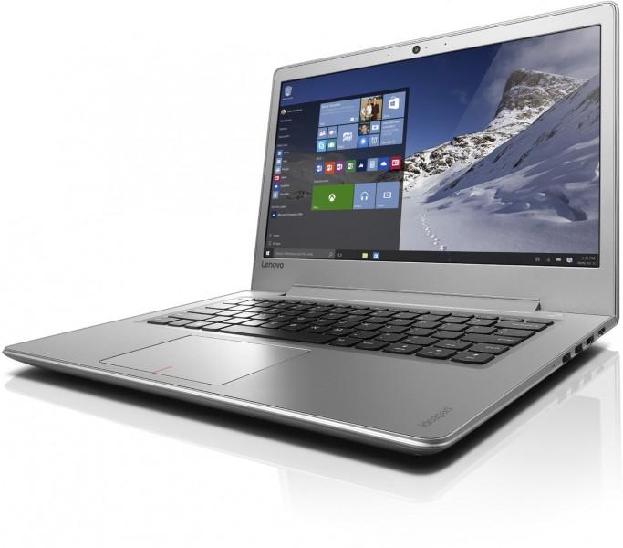 [Comtech] Lenovo ideapad 510S (14 Zoll Full HD IPS matt) Notebook silber (Intel Core i7-7500U, 8GB RAM, 256GB SSD, AMD Radeon R7 M460 2GB, Windows 10 Home) Studis & obere Mittelklasse
