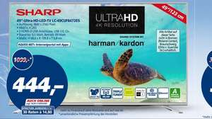 "Sharp 49"" Ultra-HD-LED-TV"