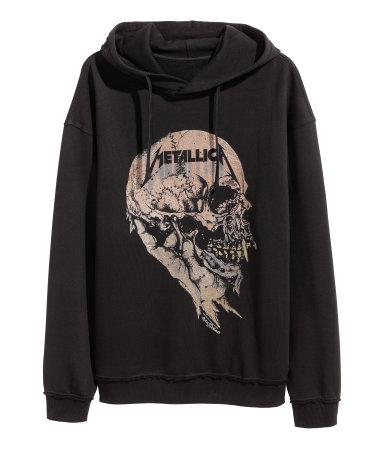 [H&M] Metallica Kapuzenshirt