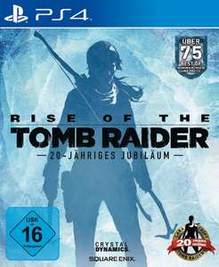 Rise of the Tomb Raider (PS4) +Day One Edition inkl. Artbook+ für 27,99€