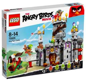 Lego Angry Birds 75826 King Pigs Castle für 48,94€ inkl. VSK bei [GALERIA Kaufhof]