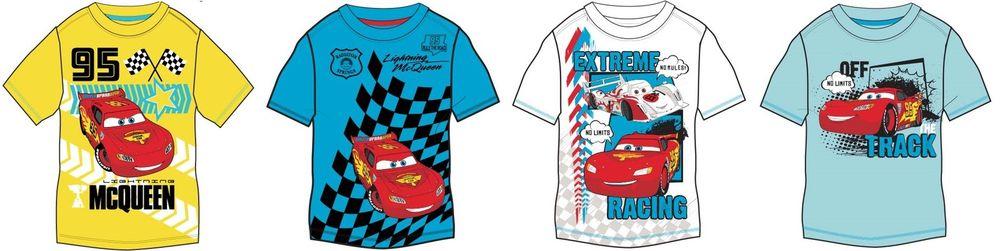 Disney Cars Kinder Kurzarmshirt 92-128 | 4,98€ inkl. Versand statt 10,59€