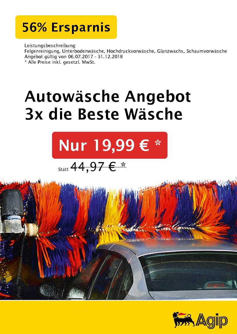 die Beste Autowäsche für 6,66 € statt 14,99 € beim Kauf von 3x Sonax-Wäschen in Ansbach