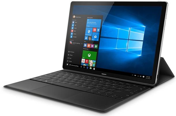 "Huawei MateBook schwarz mit Core m3, 12"" QHD Display (2160x1440 Pixel), 4GB Ram und 128GB SSD, Windows 10"