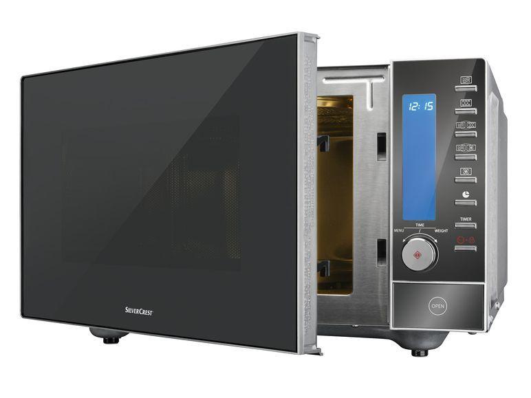 SILVERCREST Edelstahl-Mikrowelle SMW 900 EDS B5