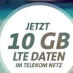 Telekom LTE-Netz 10 GB (150 Mbit/s) für eff. 13,99 € / Monat