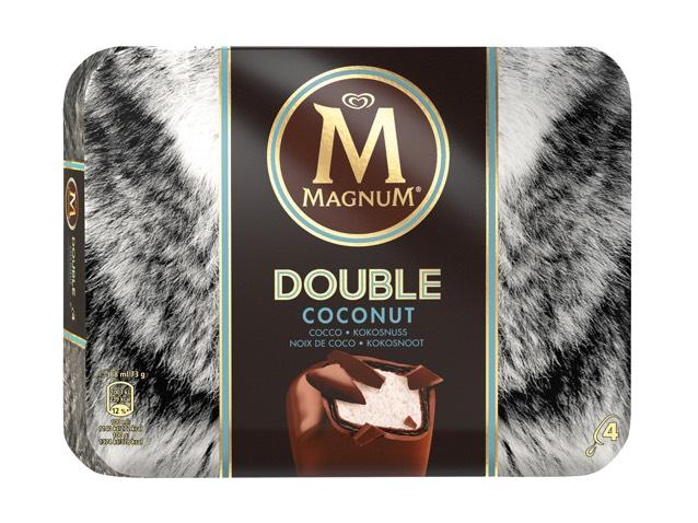 Magnum 4er Pack für 1,99€ bei Lidl und REWE - verschiedene Sorten auch Double Coconut
