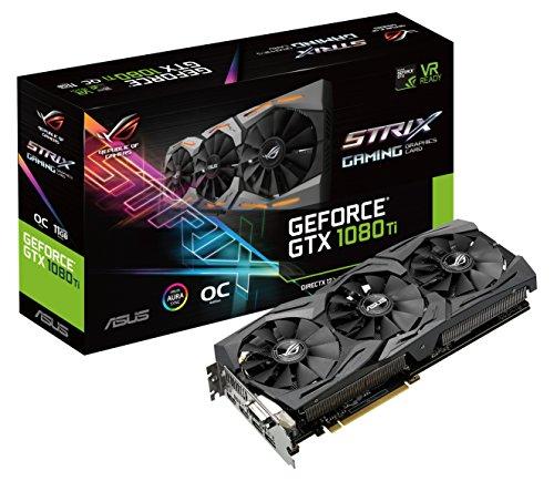Asus ROG STRIX GTX 1080 Ti OC Version für 775 mit Versand, bei amazon.fr