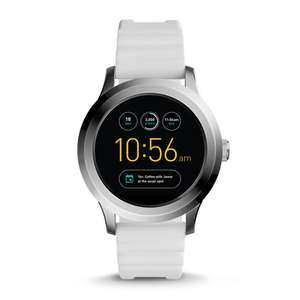Fossil Smartwatch Sale 30% off , HERREN SMARTWATCH Q FOUNDER - 2. GENERATION - SILIKON -Weiss für 160,30€