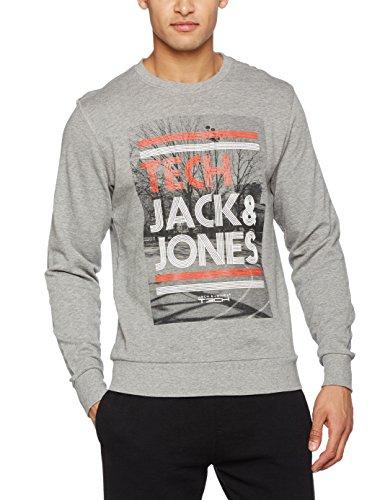 [ Prime ] JACK & JONES Herren Jjtcave Sweat Crew Neck Sweatshirt Größ L, 6 Stück auf Lager