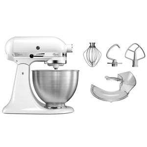 KitchenAid Classic 5KSM45EWH Küchenmaschine Factory Serviced