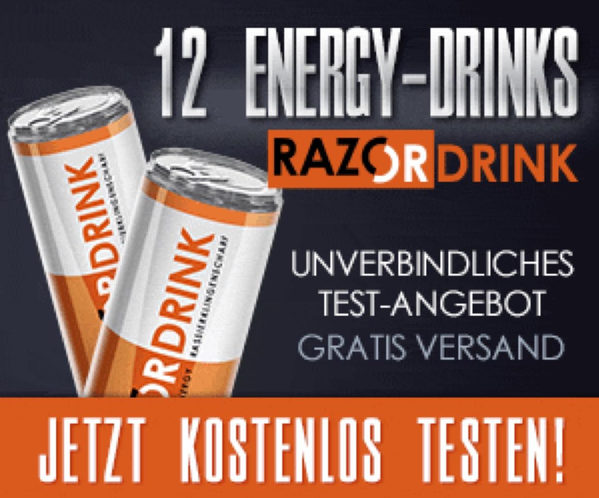 Razor Energy Drink