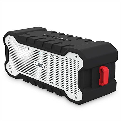 [Amazon Prime] AUKEY Outdoor Bluetooth Lautsprecher (SK-M12), begrenzte Werbeaktion: Anleitung in Beschreibung
