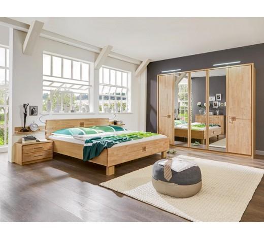 Schlafzimmer aus Erle teilmassiv für 666€ versandkostenfrei bei XXXL