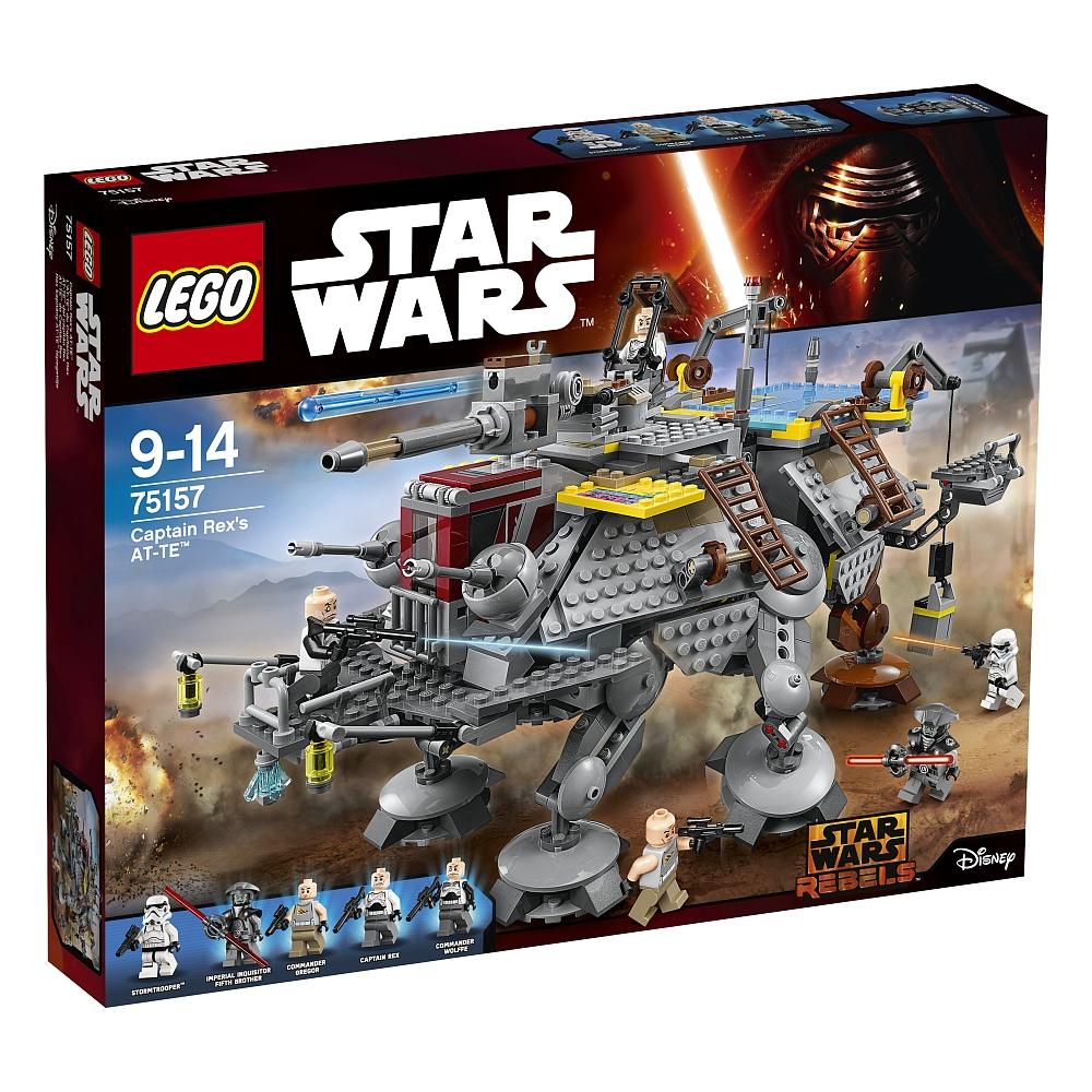 10% Rabatt ab 3 Artikeln im Warenkorb bei [ToysRUs] z.B. LEGO Star Wars - 75157 Captain Rex' AT-TE für 72,80€