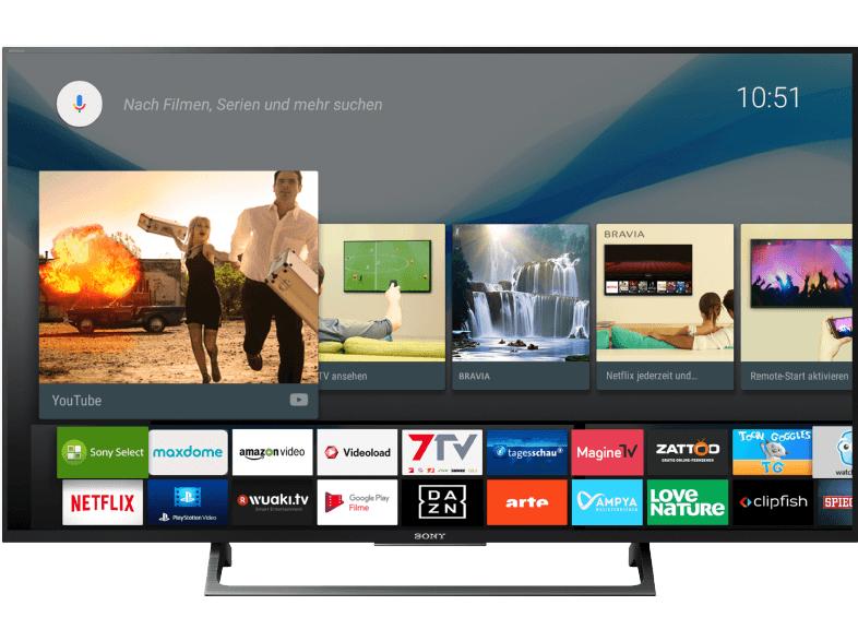 Sony KD-55XE8096 (55 Zoll / 139 cm) Ultra HD LED TV @ Saturn + Amazon online