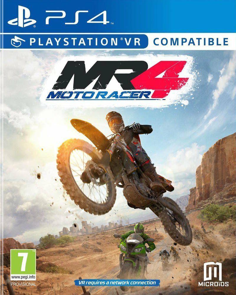 Moto Racer 4 für PS4 (PSVR-kompatibel) für 16,32 & Deluxe Version 28,66 [Amazon.fr]