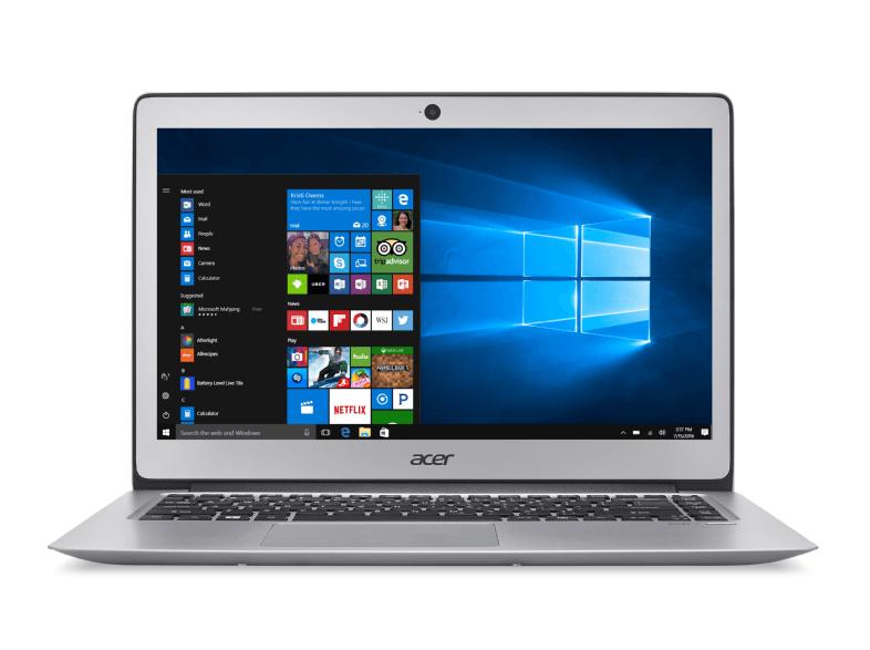 Acer Swift 3 Notebook (14'' FHD IPS matt, i5-6200U, 8GB RAM, 256GB SSD, WLAN ac, USB Typ-C, bel. Tastatur, Aluminium-Unibody, 1,55kg Gewicht, Win 10) für 599€ [Saturn]