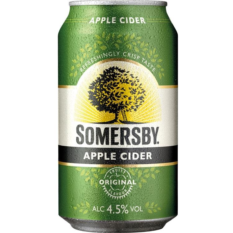 [allspirits.de] Somersby Cider (versch. Sorten) 24x 0,33l Dosen für 21,94€ (2,77€/l)