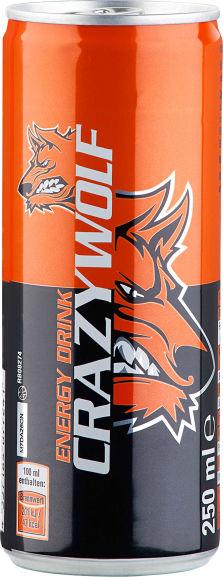 [Kaufland] Crazy Wolf 0,25L Energy Drink die Dose 0,20