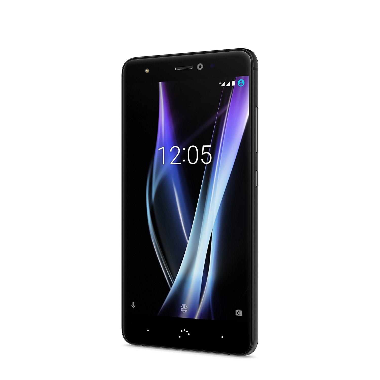 BQ Aquaris X Pro • 128GB • 4GB RAM • 12 MP Dual Pixel Kamera • schwarz