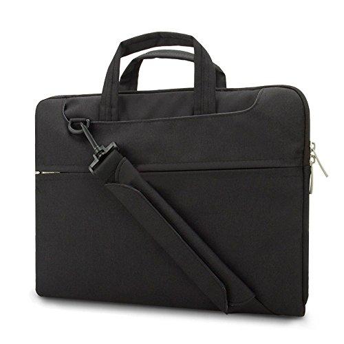 Vanwalk 13,3-Zoll wasserdichte Schultertasche Tasche Hülle für 10 bis 13,3 Zoll Laptop  &  iPad Pro 12.9